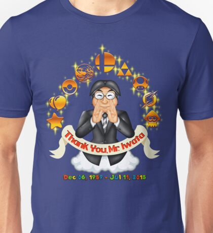 Iwata Tribute Unisex T-Shirt