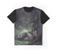 Watch Over You - Original Artwork Graphic T-Shirt