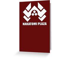 Nakatomi Plaza Greeting Card