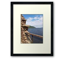 Gazing on the Ness Framed Print
