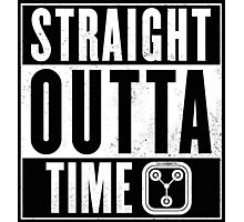 Back to the future - Straight outta time Photographic Print
