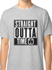 Back to the future - Straight outta time Classic T-Shirt