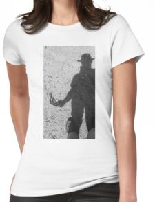 buried  Womens Fitted T-Shirt