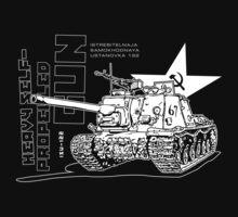 ISU-122 Self-Propelled Gun One Piece - Long Sleeve