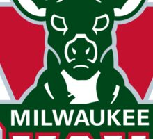 Milwaukee Bucks Sticker
