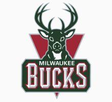 Milwaukee Bucks One Piece - Short Sleeve