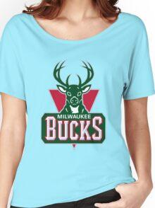 Milwaukee Bucks Women's Relaxed Fit T-Shirt