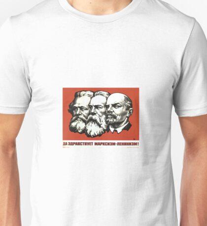 Karl Marx , Friedrich Engels , Wladimir Iljitsch Lenin Unisex T-Shirt