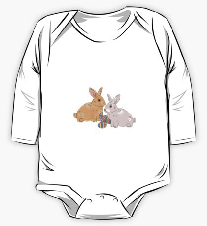 Easter bunnies, bunny One Piece - Long Sleeve