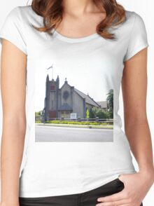 St James Memorial Church, Orbost Women's Fitted Scoop T-Shirt