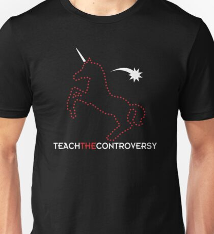 Invisible Unicorn (Teach the Controversy) Unisex T-Shirt
