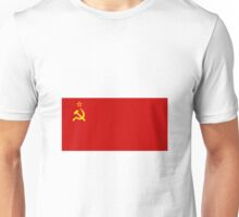Soviet Flag ( Hammer and Sickle ) Unisex T-Shirt