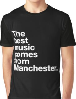 Manchester Music Graphic T-Shirt