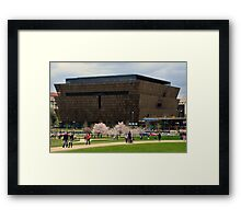 National Museum of African American History and Culture Framed Print