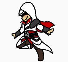 Assassins Creed Chibi Ezio Auditore da Firenze Unisex T-Shirt