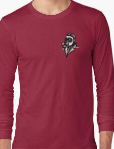 Fancy Gas Mask  Long Sleeve T-Shirt
