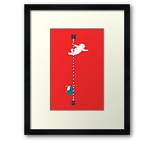 North South Pole Framed Print