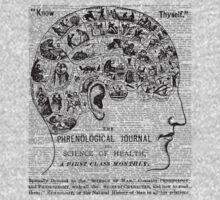 Phrenology - Know Thyself! Kids Tee