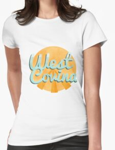 west covina cali Womens Fitted T-Shirt