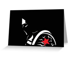 Winter Soldier  Greeting Card
