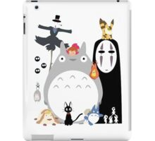 Studio Ghibli Gang family iPad Case/Skin