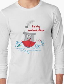 The Royal Boaty McBoatface Long Sleeve T-Shirt