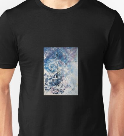 Beware of a silent dog and still water - Original Wall Modern Abstract Art Painting Unisex T-Shirt