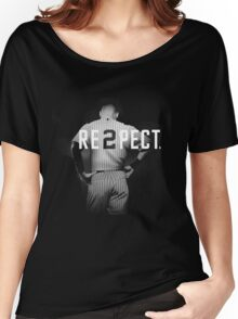 Respect Derek Jeter Women's Relaxed Fit T-Shirt