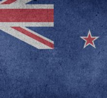 New Zealand Flag Grunge Sticker