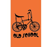 Old School Bike Fixie Bike Photographic Print