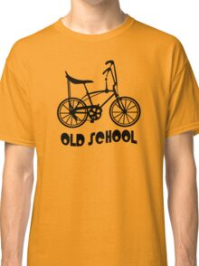 Old School Bike Fixie Bike Classic T-Shirt