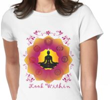 Look Within Womens Fitted T-Shirt