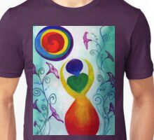 Chakra Angel Unisex T-Shirt