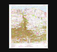 USGS TOPO Map Puerto Rico PR Camuy 362063 1972 20000 Unisex T-Shirt