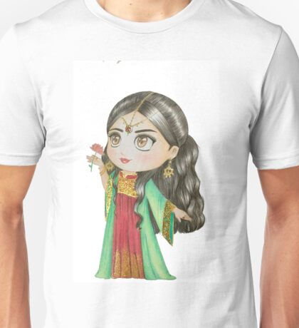 Oriental Girl 2 Unisex T-Shirt
