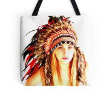 Indian warrior 14 Tote Bag