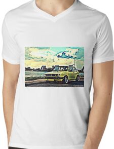 Vintage Yellow Golf T-Shirt