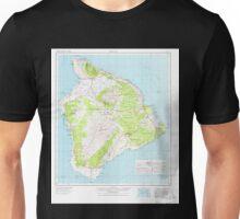 USGS TOPO Map Hawaii HI Hawaii 349916 1975 250000 Unisex T-Shirt