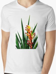 Anigozanthos 'Bush Rampage' Mens V-Neck T-Shirt