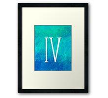 Brine IV Framed Print