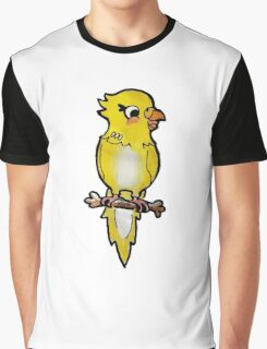 Peckles the budgie Graphic T-Shirt