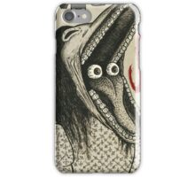 Show Me Your Scary Face iPhone Case/Skin