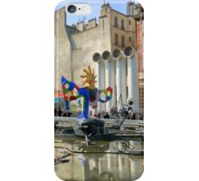Stravinsky Fountain, Paris iPhone Case/Skin