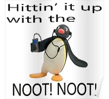 Pingu - Hitin' it up with the NOOT! NOOT! Poster