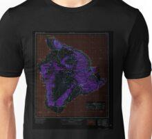 USGS TOPO Map Hawaii HI Hawaii 349916 1975 250000 Inverted Unisex T-Shirt