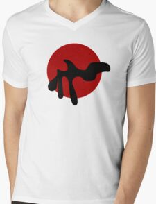 arp abstract pop number 2 Mens V-Neck T-Shirt