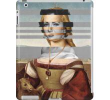 "Rafael's ""Portrait of Young Woman with Unicorn"" & Elizabeth Taylor iPad Case/Skin"