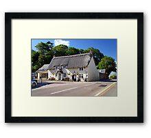 Church Hollow Scene, Godshill Framed Print