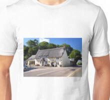 Church Hollow Scene, Godshill Unisex T-Shirt