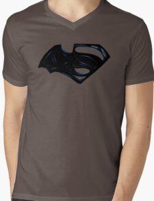 Batman Vs Superman Mens V-Neck T-Shirt